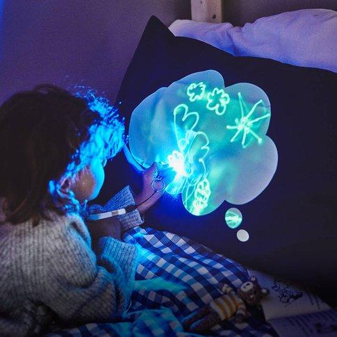 Interactive Glow In The Dark Dream Cloud Pillowcase