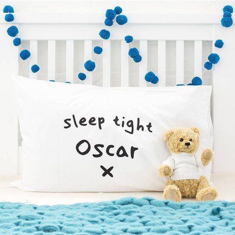 Personalised Children's Special Message Pillow Case,...