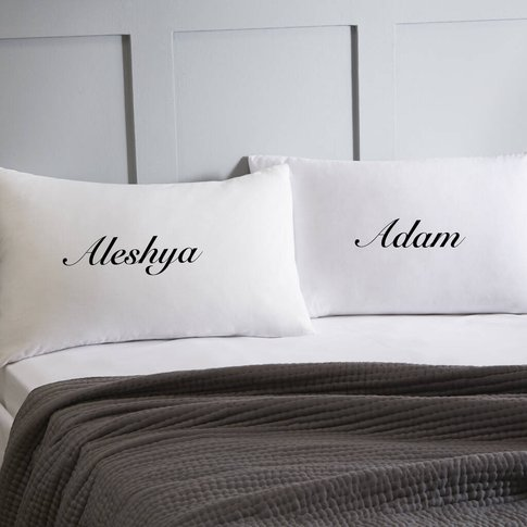 Personalised Name Pillowcases
