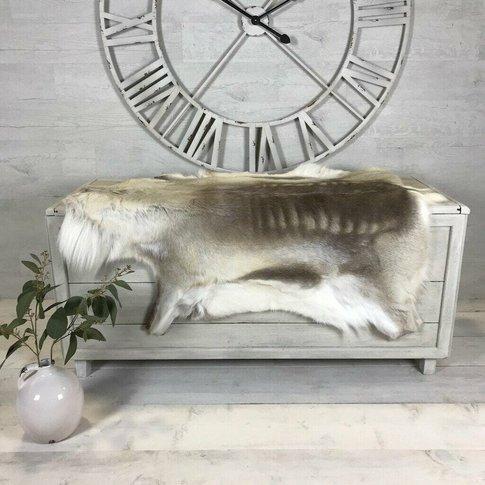 Luxury 'Rare Breed' Reindeer Large Hide Rug 108 X 118