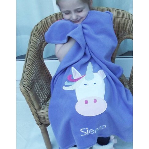 Unicorn Character Fleece Comfort Blanket