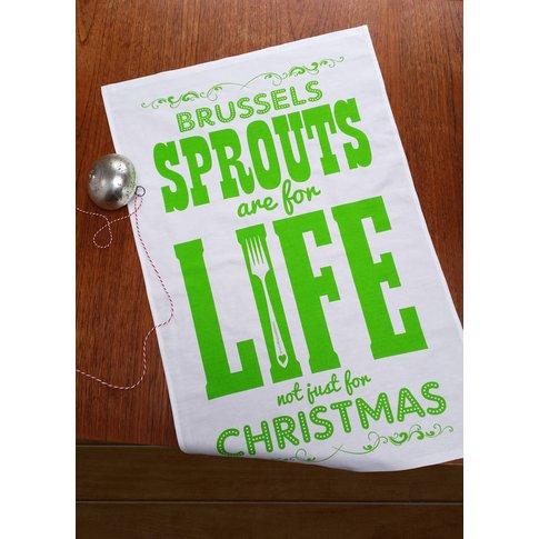 Sprouts Tea Towel