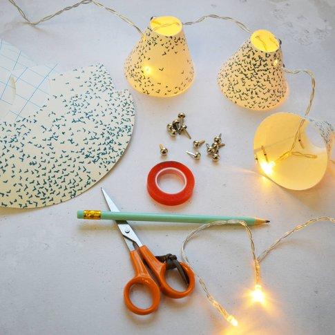 Mini Lampshade Fairy Lights Workshop