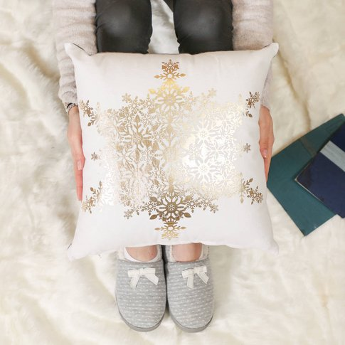 Look To The Stars Merry Christmas Cushion