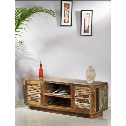 Lindi Reclaimed Wood Tv / Media Unit