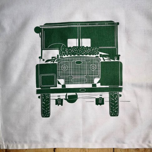 Land Rover Tea Towel