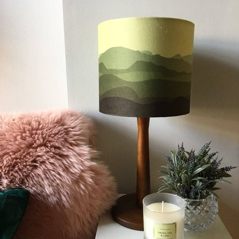 Headland Lampshade In Green