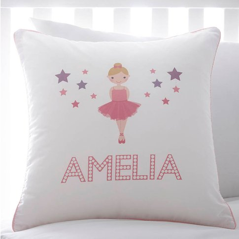 Personalised Ballerina Cushion