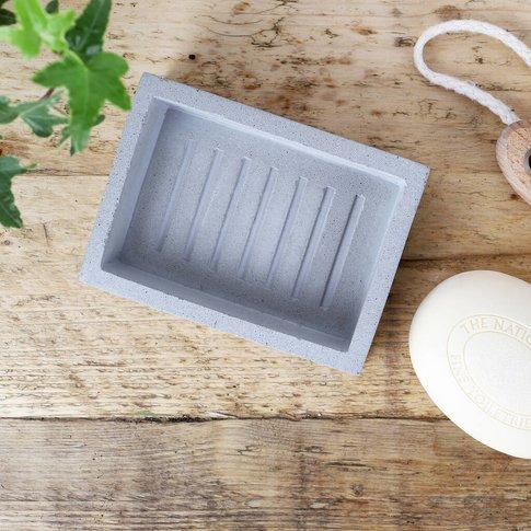 Concrete Soap Dish