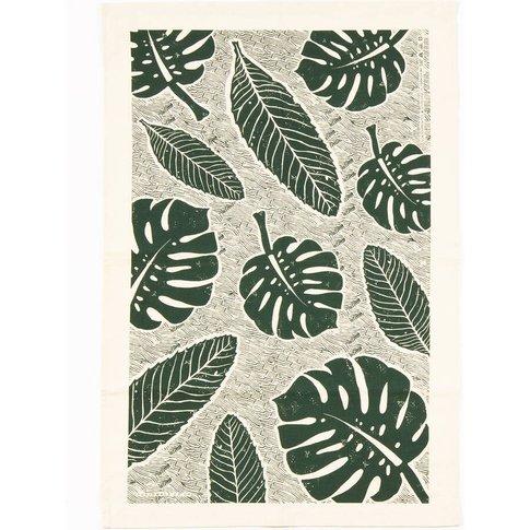 Leaf Tea Towel