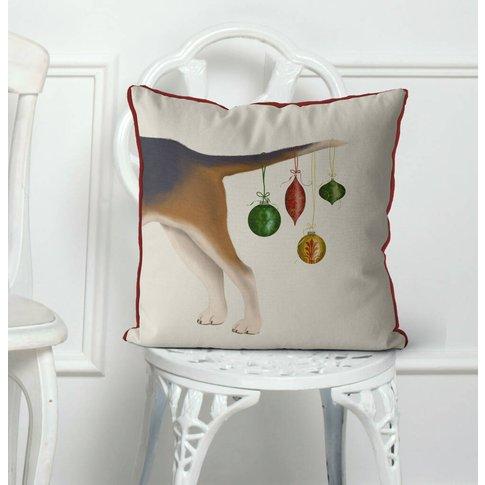 Bummer, Christmas Cushion