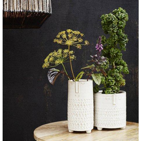 Face Imprint Plant Pots