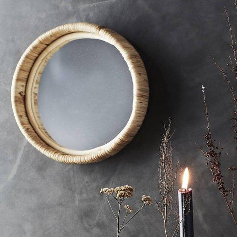 Natural Bamboo Mirror