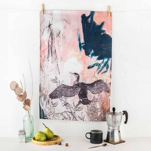 Cormorant Tea Towel