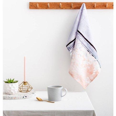 Coastal Cotton Tea Towel, 'Aspect Stripe'