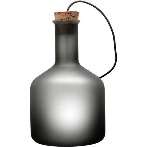 Labware Cylinder Table Floor Lamp Grey