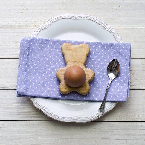 Teddy Bear Egg Cup Tealight Holder