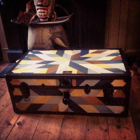Storage Trunk Quilt Pattern