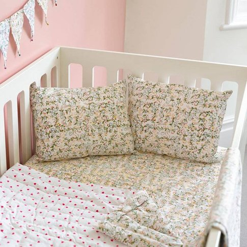 Floral Cot Bed Fitted Sheet