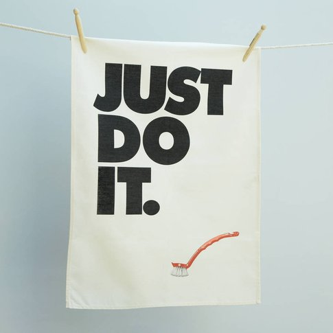 'Just Do It' Sports Lovers Tea Towel