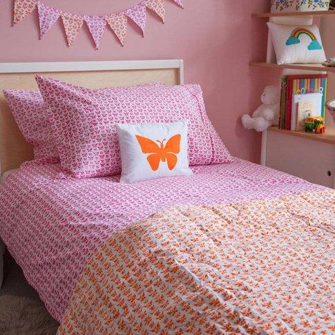 Butterfly Single Duvet Cover