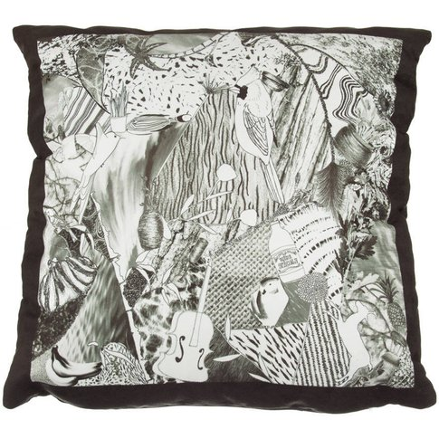 Jenny Collicott Monochrome Cushion