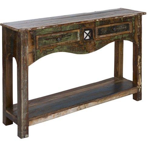 Amuru Reclaimed Wood Console Table
