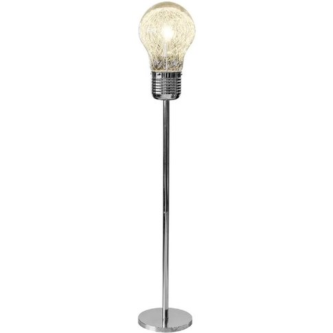 Industrial Bulb Shaped Floor Lamp