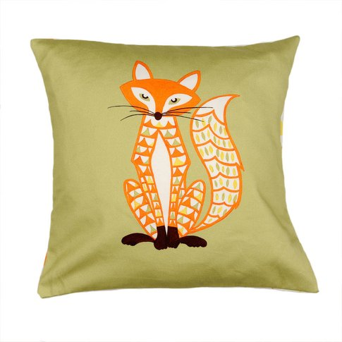 Decorative Fox Cushion