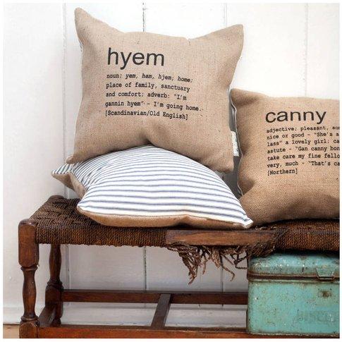 'Canny' Cushion