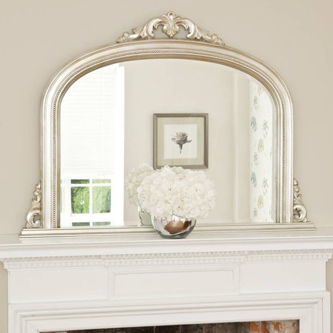 Isabella Overmantel Mirror, Gold
