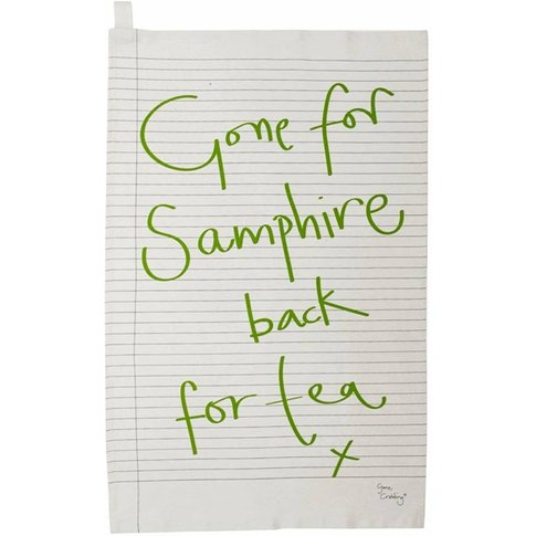 Gone For Samphire Tea Towel
