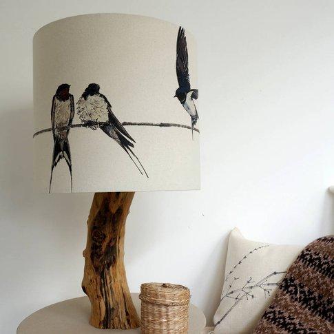 Swallow Lampshade