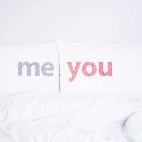 Mine, Yours And Others Pairs Of Pillowcases, Red/Cha...