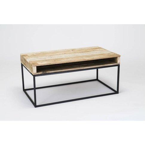 'Slim Top' Wood Coffee Table