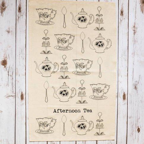 'Afternoon Tea' Tea Towel