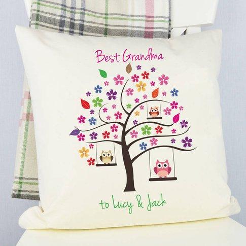 Personalised Best Grandma Cushion