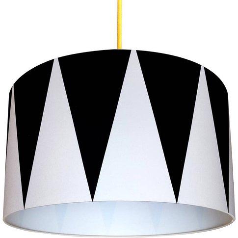 Circus Drum Handmade Monochrome Lampshade