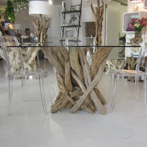 Driftwood Dining Table To Seat Four
