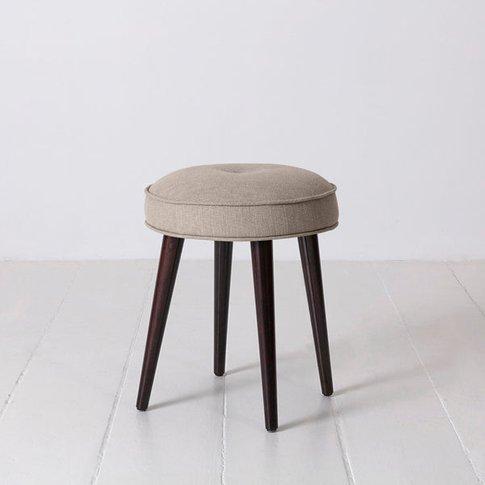 Swyft Model 00 Footstool In Pumice Linen