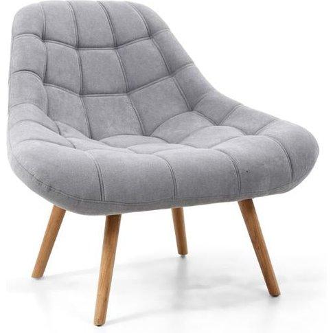 Shankar Shell Light Grey Armchair