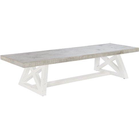 Rowico Oxford Grey Bench / Small