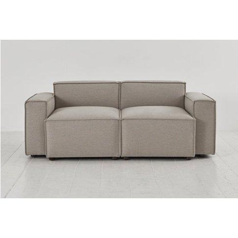 Swyft Model 03 2 Seater Sofa - Pumice Linen