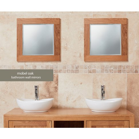 Baumhaus Solid Oak Mirror (Small)