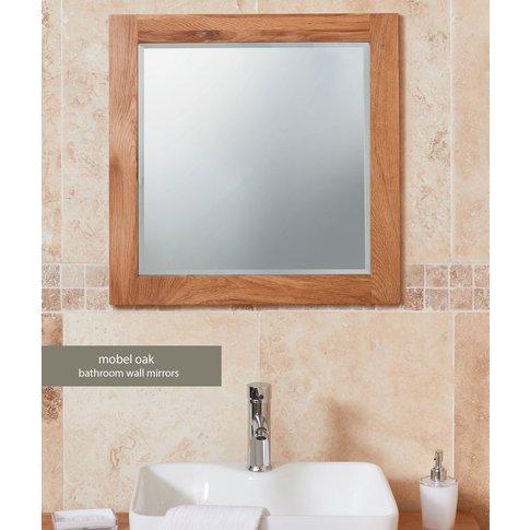 Baumhaus Solid Oak Mirror (Large)