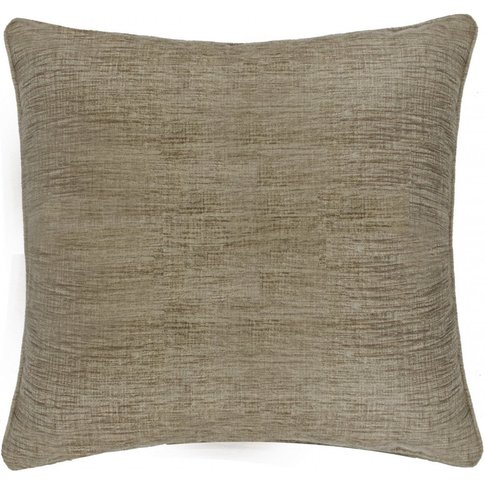 Unfilled Gold Chenille Cushion