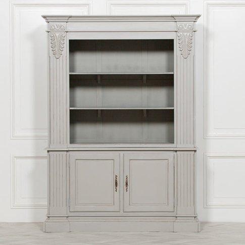 Maison Reproductions Large Open Bookcase