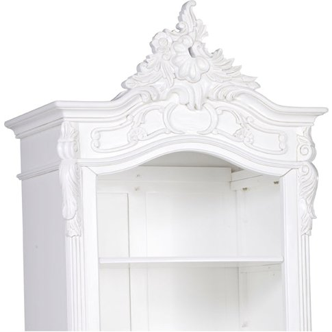 Maison Reproductions Carved Bookcase