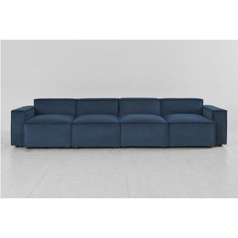Swyft Model 03 4 Seater Sofa - Velvet Teal