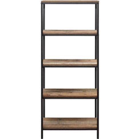 Birlea Urban 5 Tier Bookcase Rustic